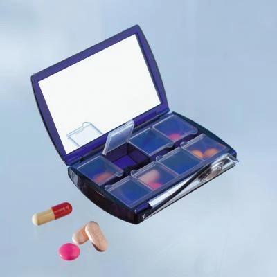 Cutie pentru medicamente (cu oglinda)