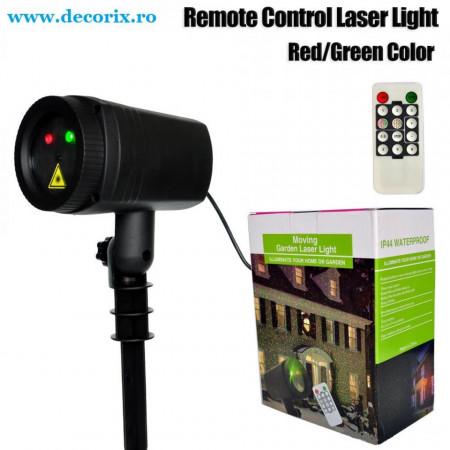 Laser exterior cu telecomanda diferite modele rosu/verde