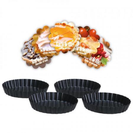 Set 4 forme mini-tarta