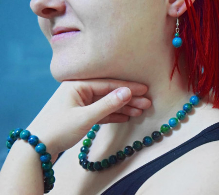 Set bijuterii Blue