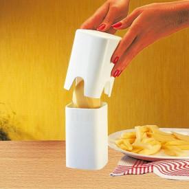 Dispozitiv pentru taiat cartofi pai