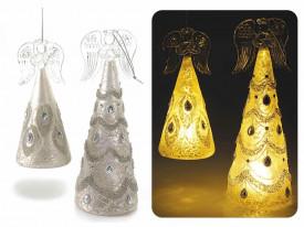 Set 2 ingerasi sticla LED