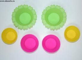 Set 6 forme din silicon briose