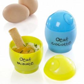 Vas pentru oua ochiuri la microunde