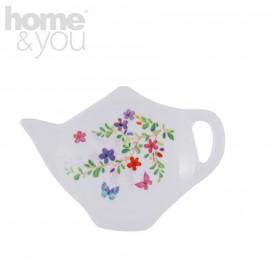 Farfurie ceainic flori