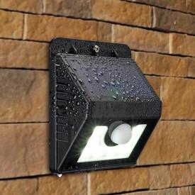 Lampa solară cu senzor de mişcare exterior 4 leduri