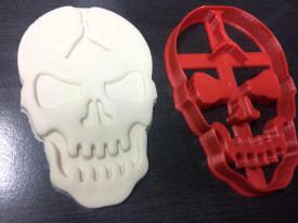 Forma decupaj Skull Halloween