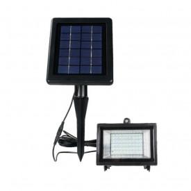 Proiector Led cu Panou Solar 2.5W