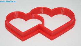 Forma decupaj inimioare