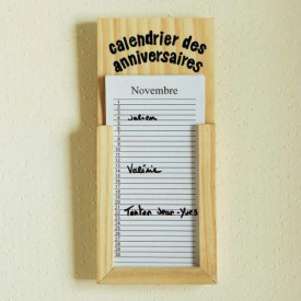 Calendar aniversar