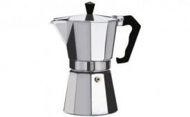 Expresor cafea sau ceai pentru aragaz, din aluminiu