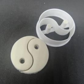 Forma decupaj ying yang