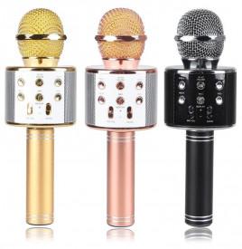 Microfon karaoke fara fir WS-858 acumulator incorporat