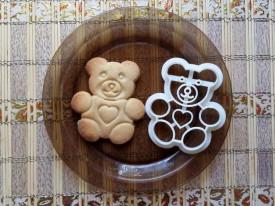 Forma decupaj Teddy Bear