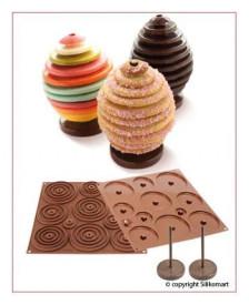 Forma silicon - ou de ciocolata 3D
