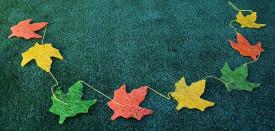 Ghirlanda frunze