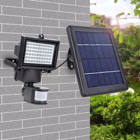 Proiector Led cu Panou Solar si Senzor de Miscare, 3W