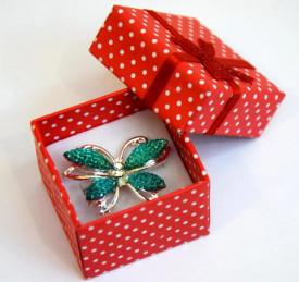 Brosa Fluture verde