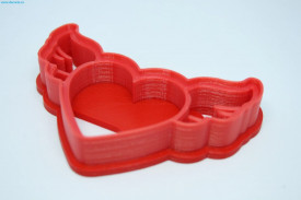 Forma decupaj inimioara