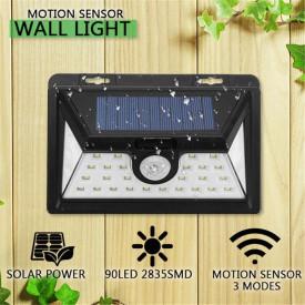 Lampa solară cu senzor de mişcare 34 leduri