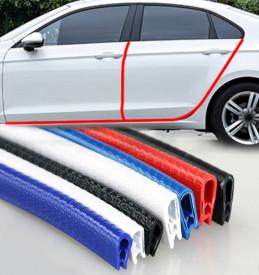 Banda de protectie auto pentru usi, din cauciuc cu insertie metalica, 5M