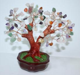 Copacel Feng Shui cu pietre semipretioase