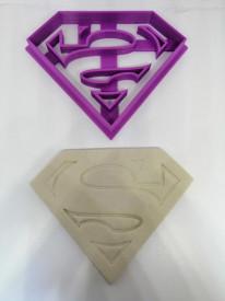 Forma 3D logo Superman