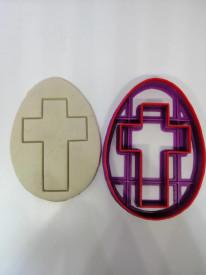Forma 3D Ou cu model de cruce