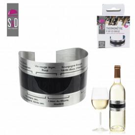 Termometru inox pentru vin