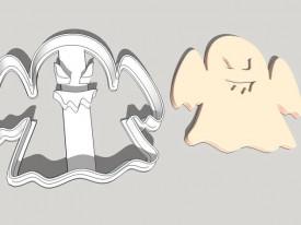 Forma decupaj fantoma Halloween