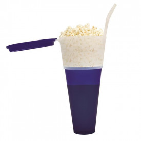 Pahar + suport popcorn