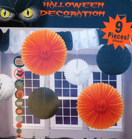 Set 9 decoratiuni Halloween