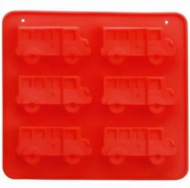 Forma silicon 6 prajituri Autobuz
