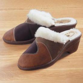 Papuci de casa din lana