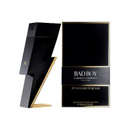 Apa de Toaleta Carolina Herrera, Bad Boy, Barbati, 100 ml