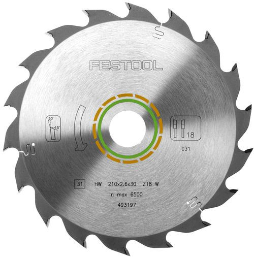 Panza circular Festool