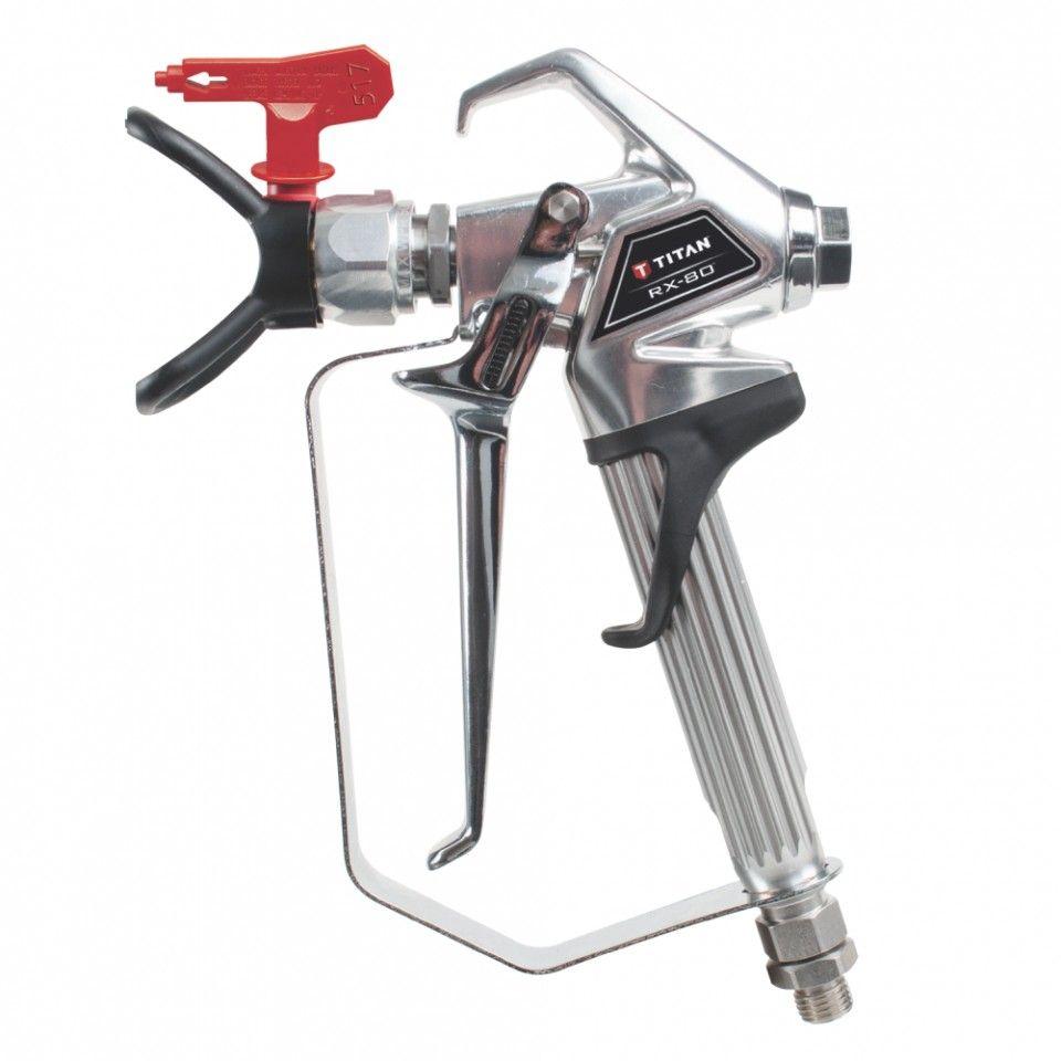 Pistol Titan RX80 max 250 bar pentru pompe de zugravit airless Titan - Wagner