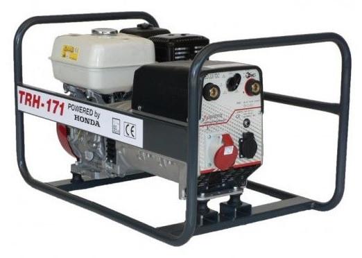 Generator de curent pentru sudură Honda TRH171, motor GX-270, monofazat-trifazat, 5,5 kVA, 170AC Honda