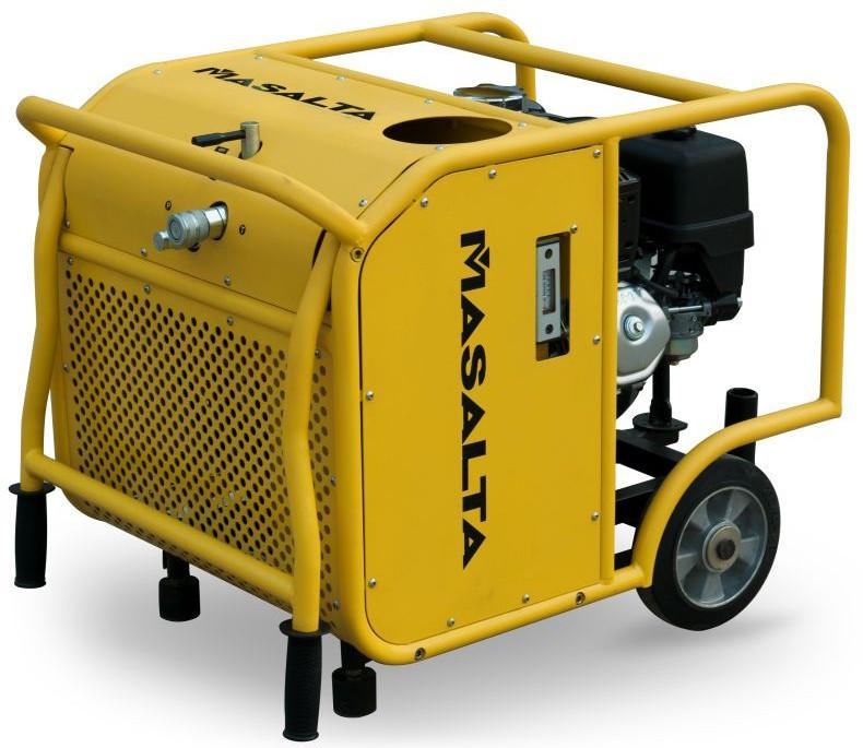 Masalta MHP13/30-4U Unitate hidraulica, 138 bar, 30 L/min, Honda GX390, benzina MASALTA