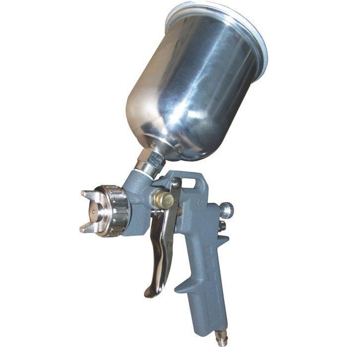 Pistol de vopsit cupa sus capacitate 0.5Kg duza 1.5 mm Airmaster