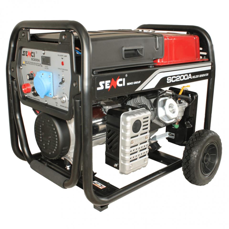 Imagine Generator Sc 200a Senci Max. 5.5 Kw 230v Avr Benzina