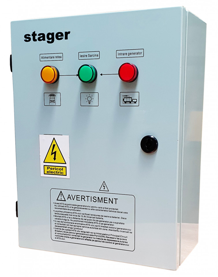Stager YPA40032F12S automatizare trifazata 32Ah STAGER
