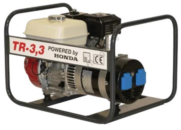 Generator de curent Honda TR 3.3, motor GX-200, monofazat, 3,3 kVA, 5,6 CP Honda