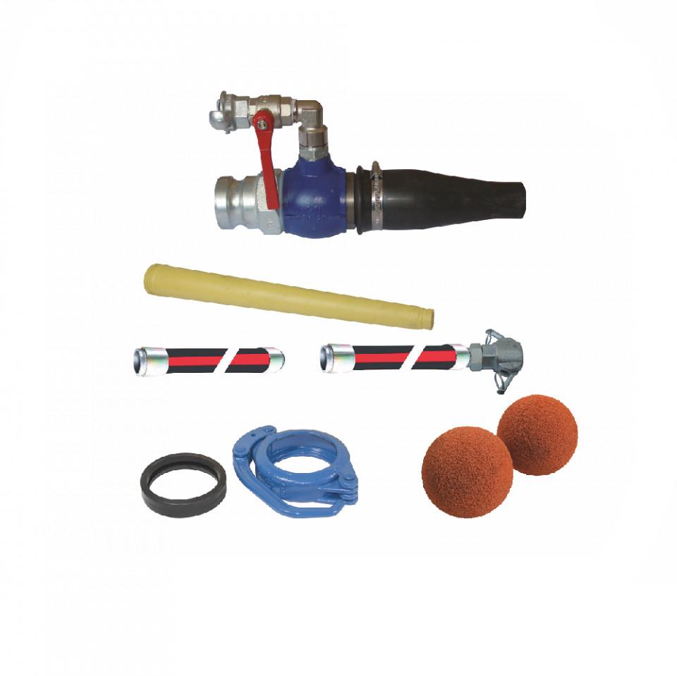 Kit torcretare (Spritz beton) pentru Booster15 IMER