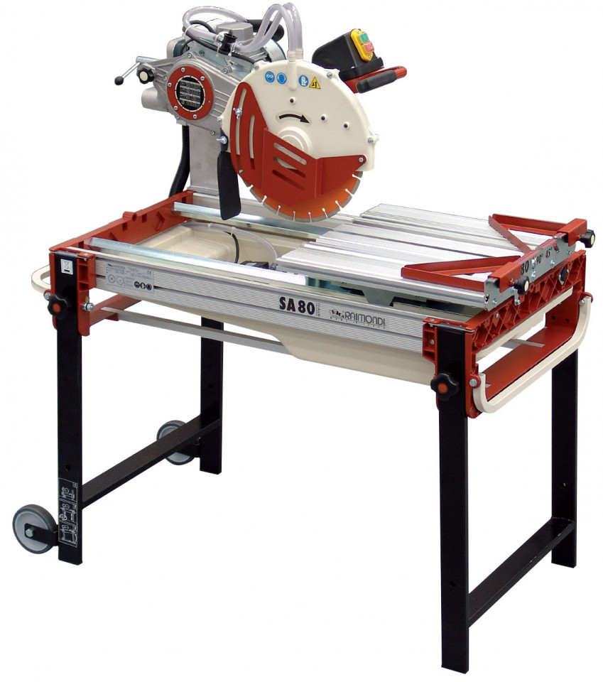 Masina de taiat materiale de constructii 80cm, 2.2kW, SA 80 - Raimondi-218A Raimondi