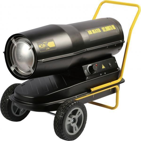PRO 50kW Diesel - Tun de caldura pe motorina cu ardere directa Intensiv Intensiv