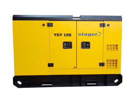 Stager YDY10S Generator insonorizat diesel monofazat 8.6kVA, 37A, 1500rpm