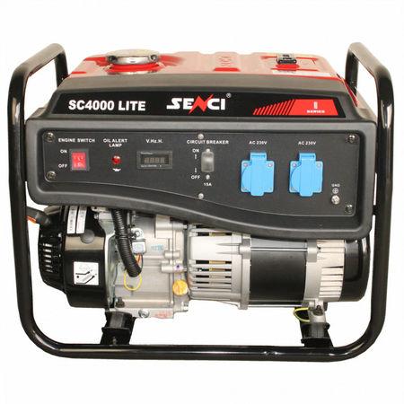 Generator curent monofazat SC-4000 LITE Putere max. 3.8 kW