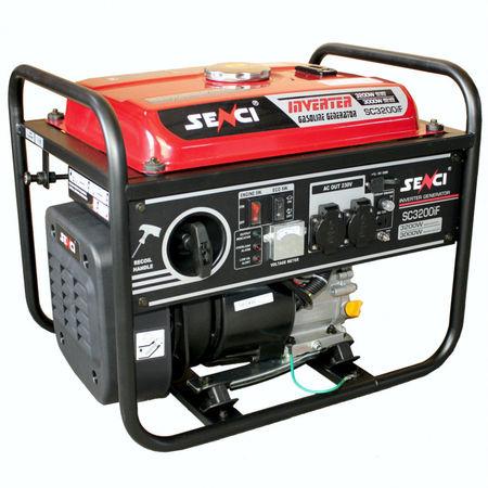 Generator de curent monofazat inverter SC-3200iF Putere max 3.2 kW AVR