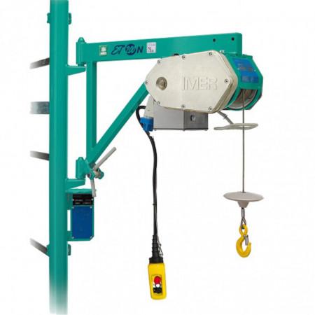 Electropalan cu cadru fix ET 200 N, sarcina max 200 kg, inaltime max. 25 m